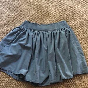 Athleta shorts but looks like short flowy skirt